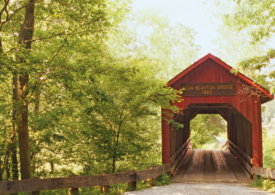 Bean Blossom Covered Bridge