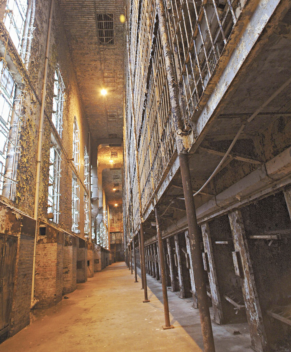 As if the setting wasn't spooky enough, guides detail ghost sightings at  the Ohio State Reformatory in Mansfield.