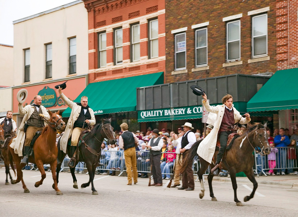 Defeat of Jesse James Days.