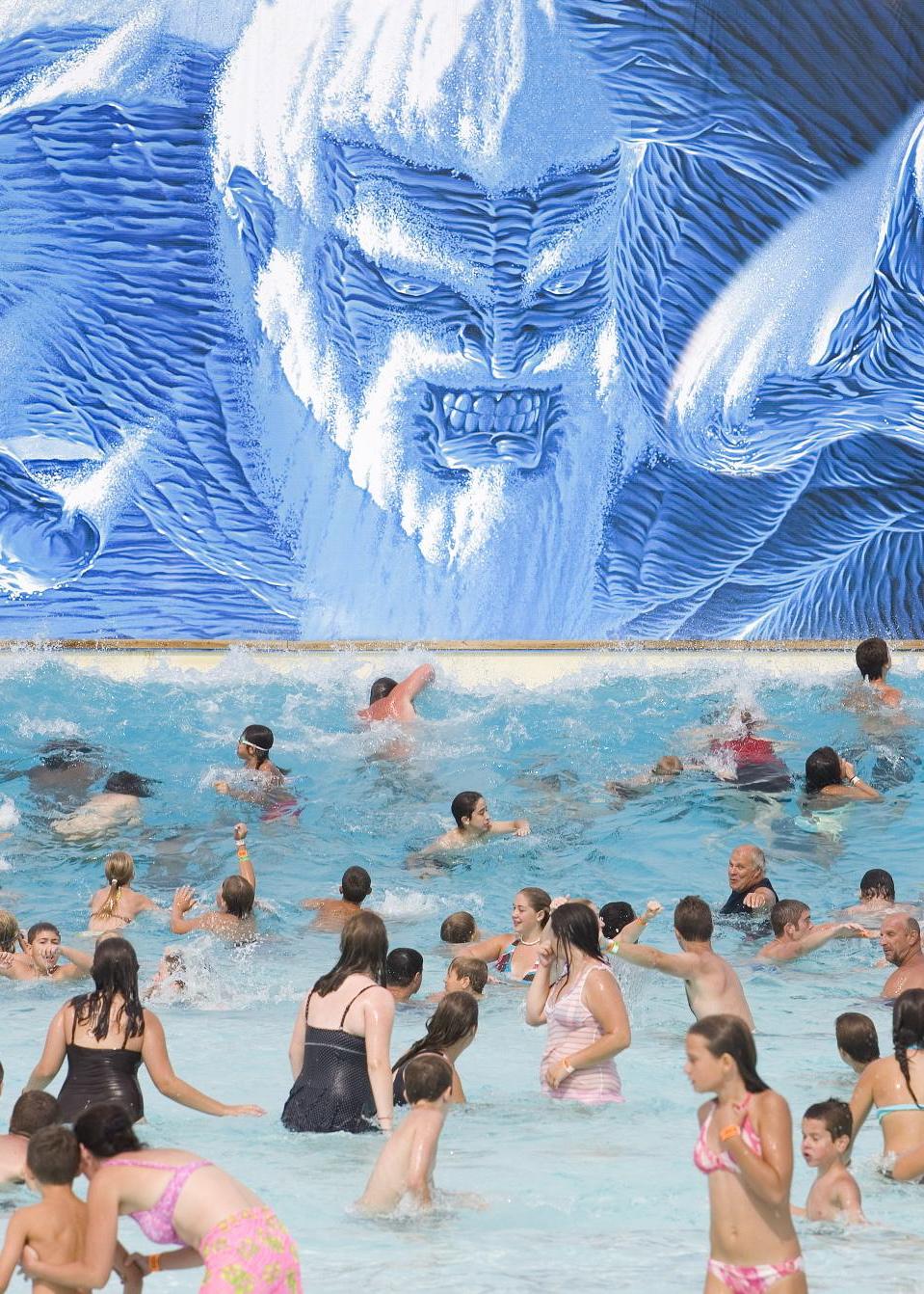 Poseidon's Rage Wave Pool