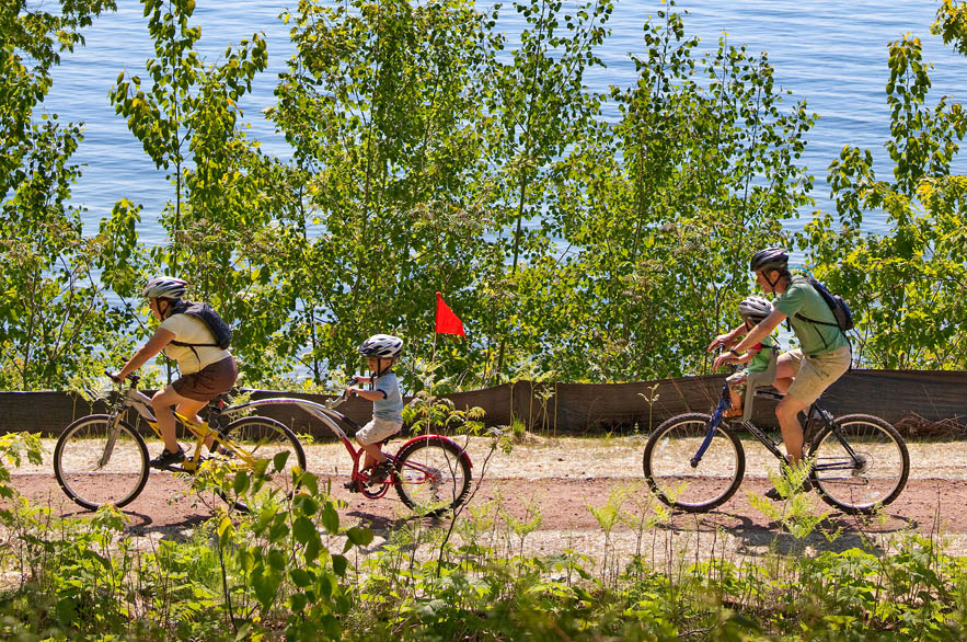 Bayfield biking