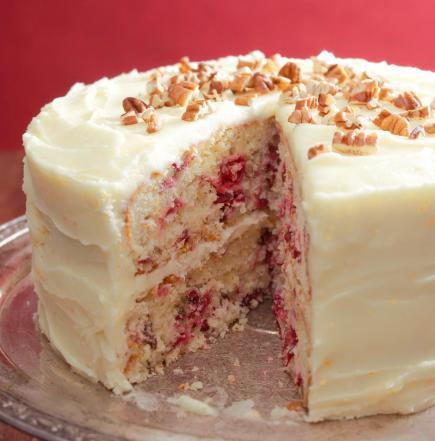 Cranberry Layer Cake