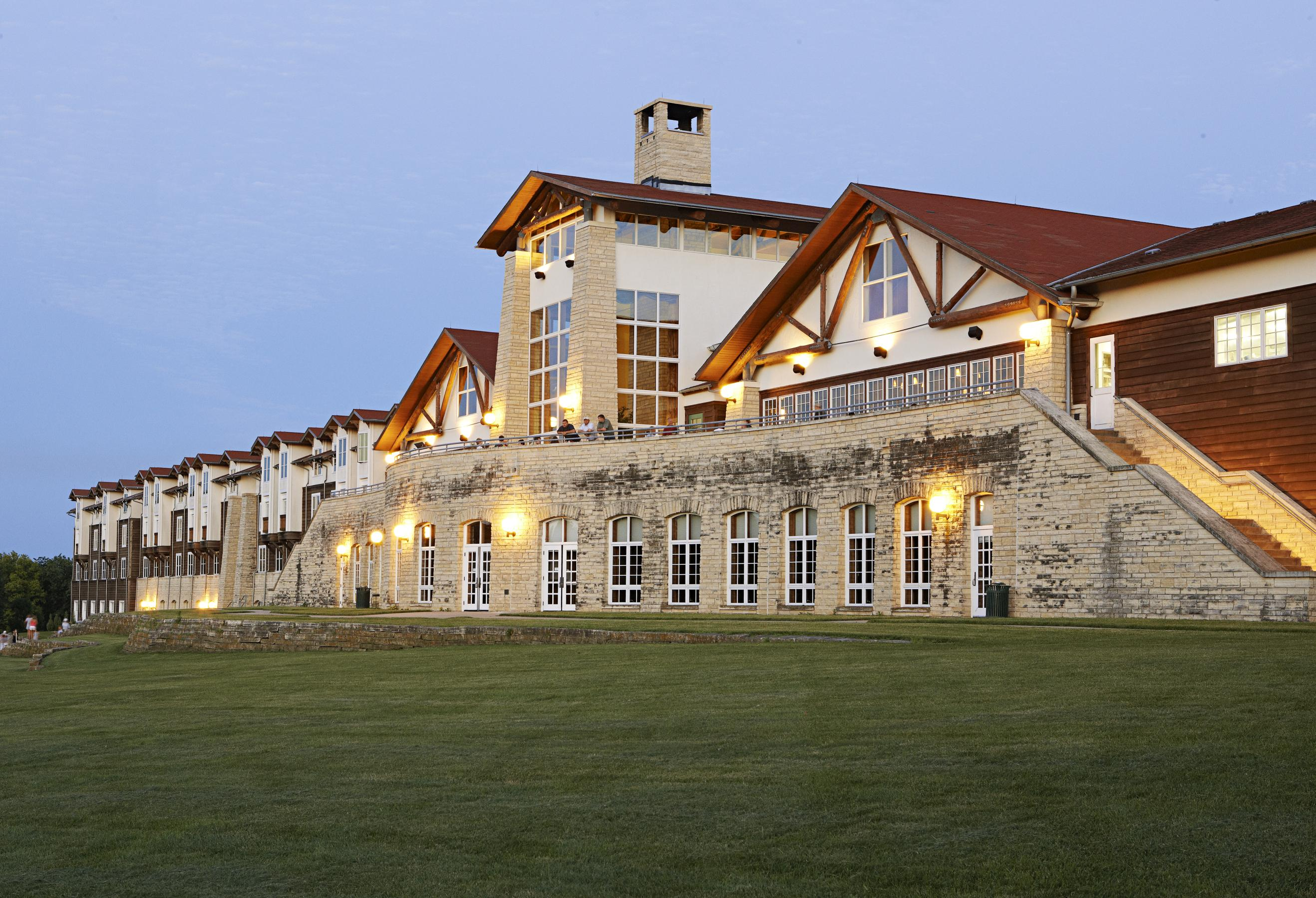Lied Lodge and Conference Center. Photo by Jay Wilde.