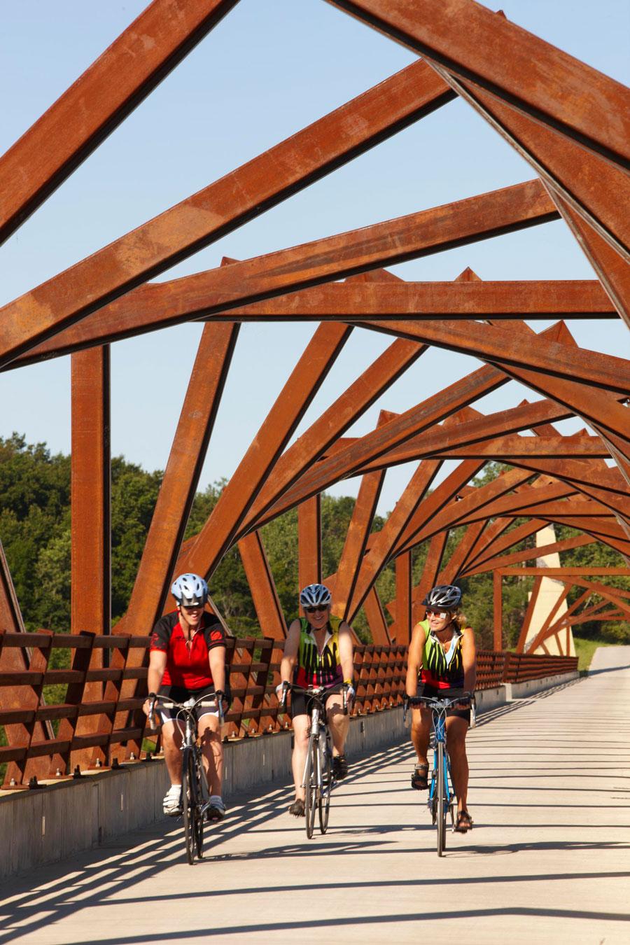 Iowa: High Trestle Trail