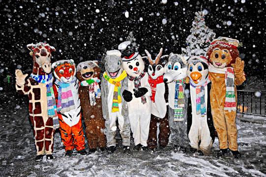 Holiday Magic. Photo Courtesy of Brookfield Zoo.