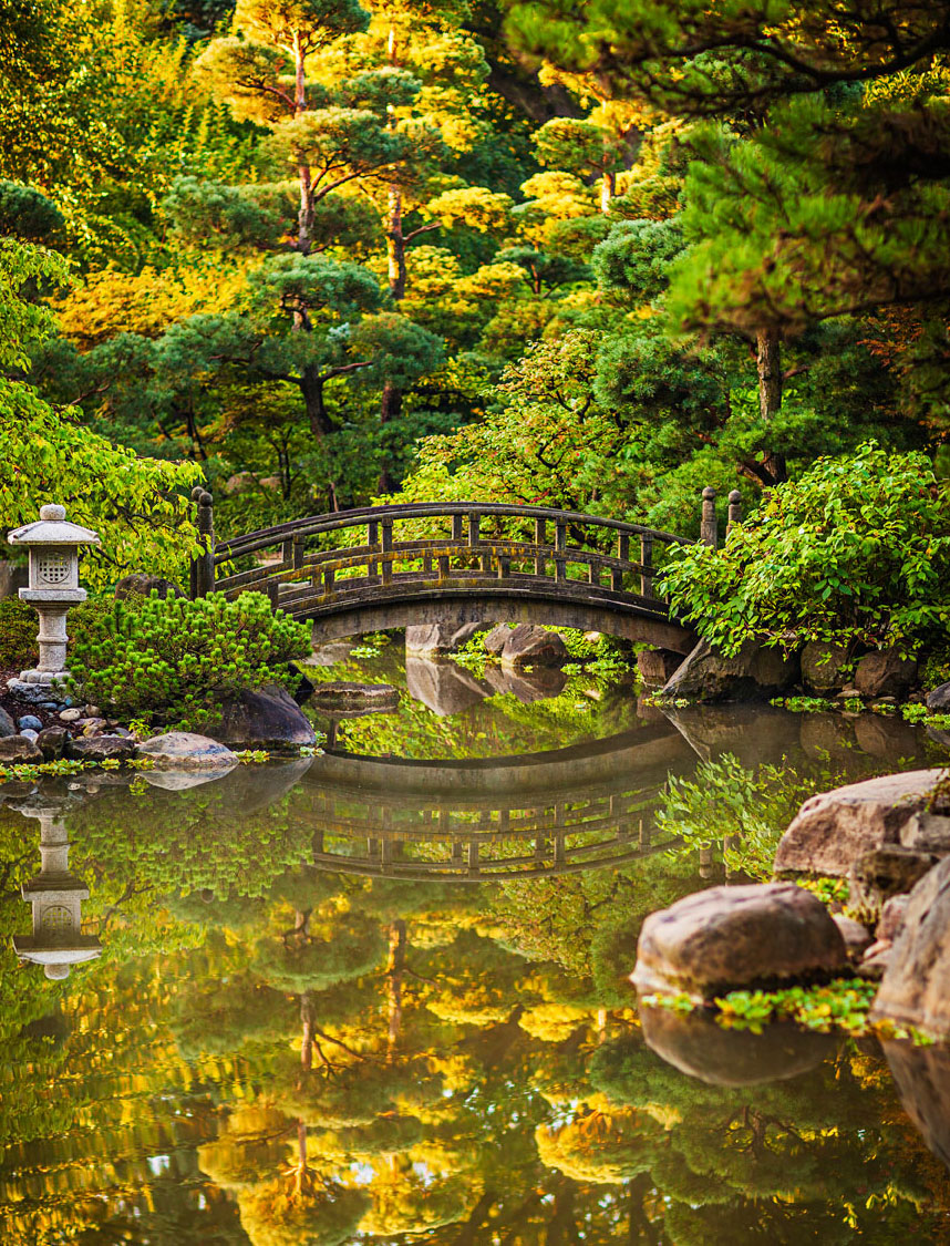You'll find 12 acres of tranquility (and a ceremonial tea house) at Anderson Japanese Garden.