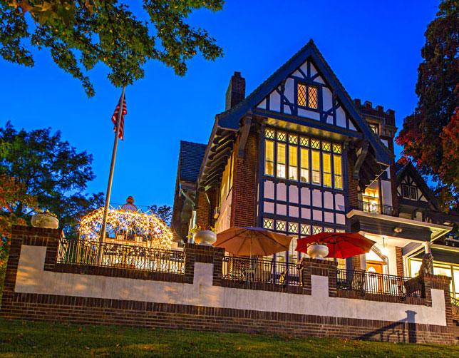 The Tuck U Inn / Glick Mansion in Atchison, Kansas.