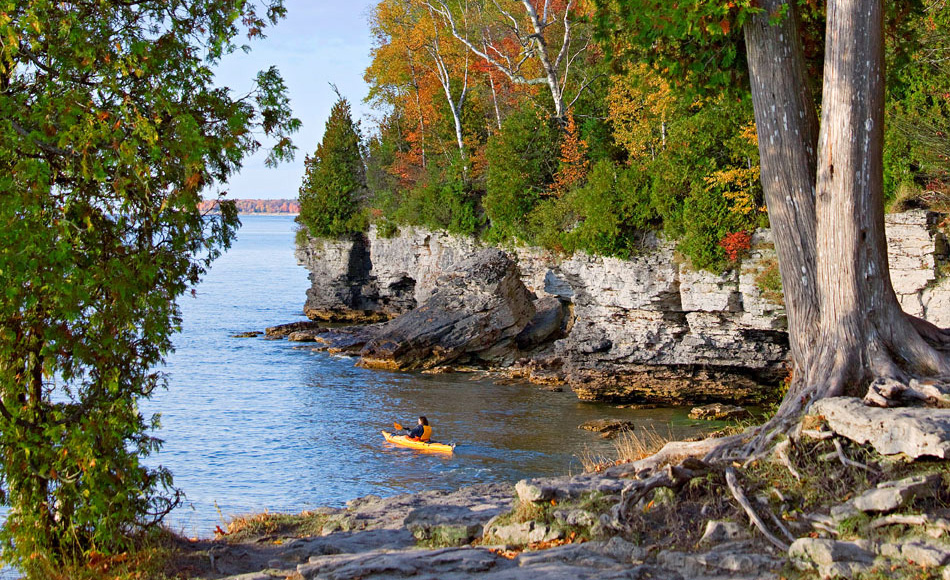 Cave Point Park & Top Things to Do in Door County Wisconsin | Midwest Living