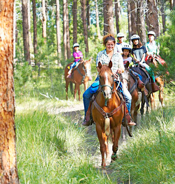 Custer State Park horse rides