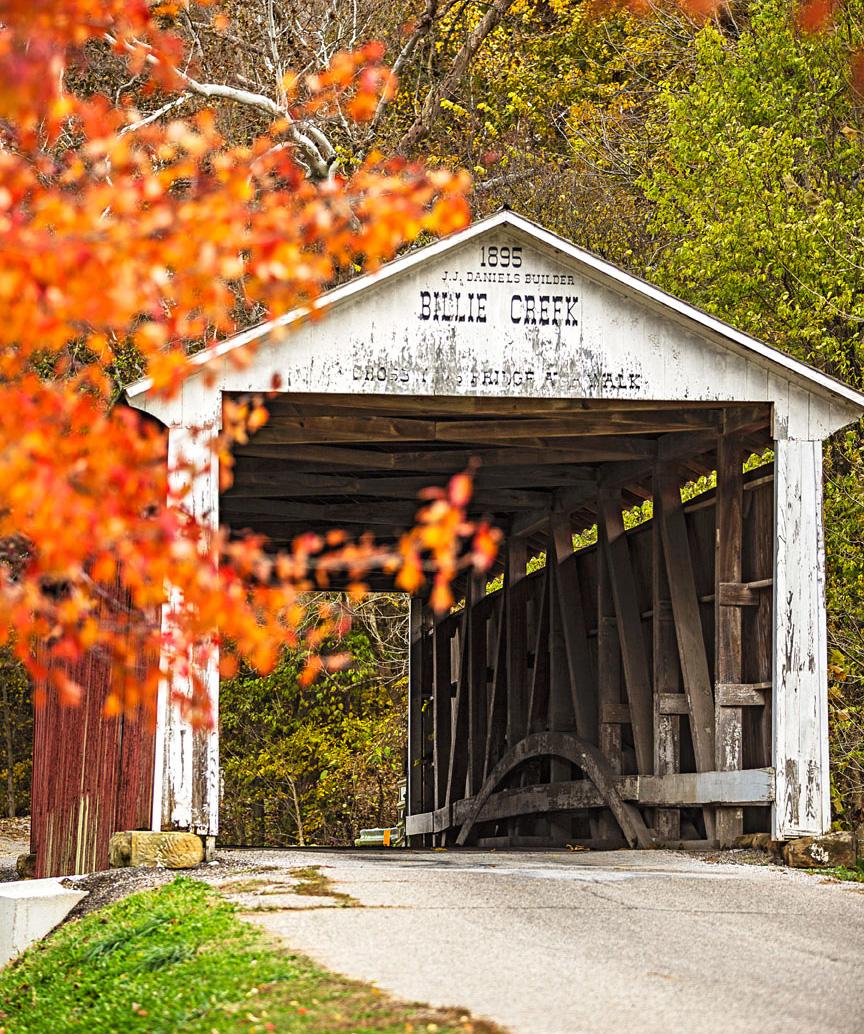 Billie Creek bridge, Parke County