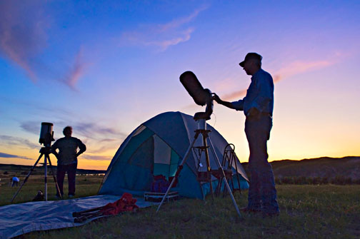 Nebraska Star party at Merritt Reservoir. Photo courtesy of Nebraska Tourism