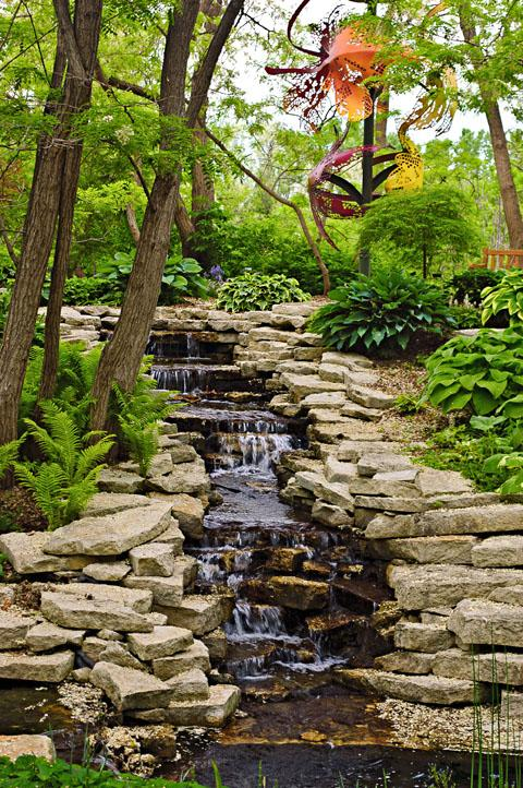 Lauritzen Gardens. Photo courtesy of Omaha Convention and Visitors Bureau.
