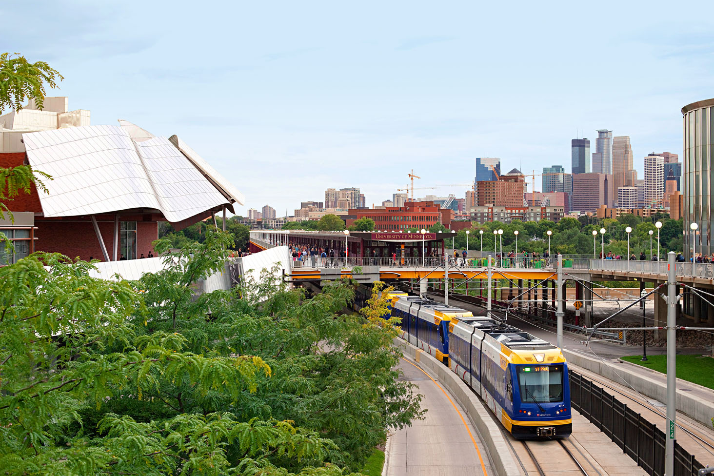 Explore The Green Line Between Minneapolis And Saint Paul