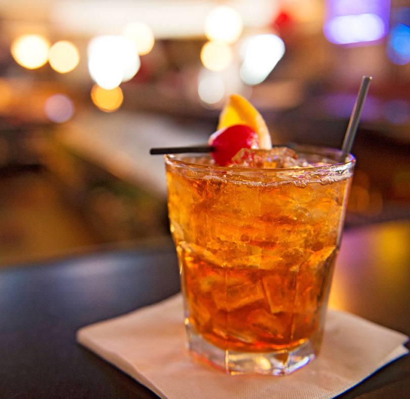Toby's Supper Club in Madison serves a classic Wisconsin-style old-fashioned, made with brandy, not whiskey.