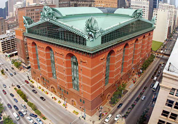 the history of harold washington library