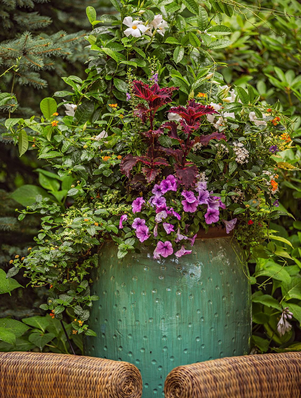 Texture play container garden