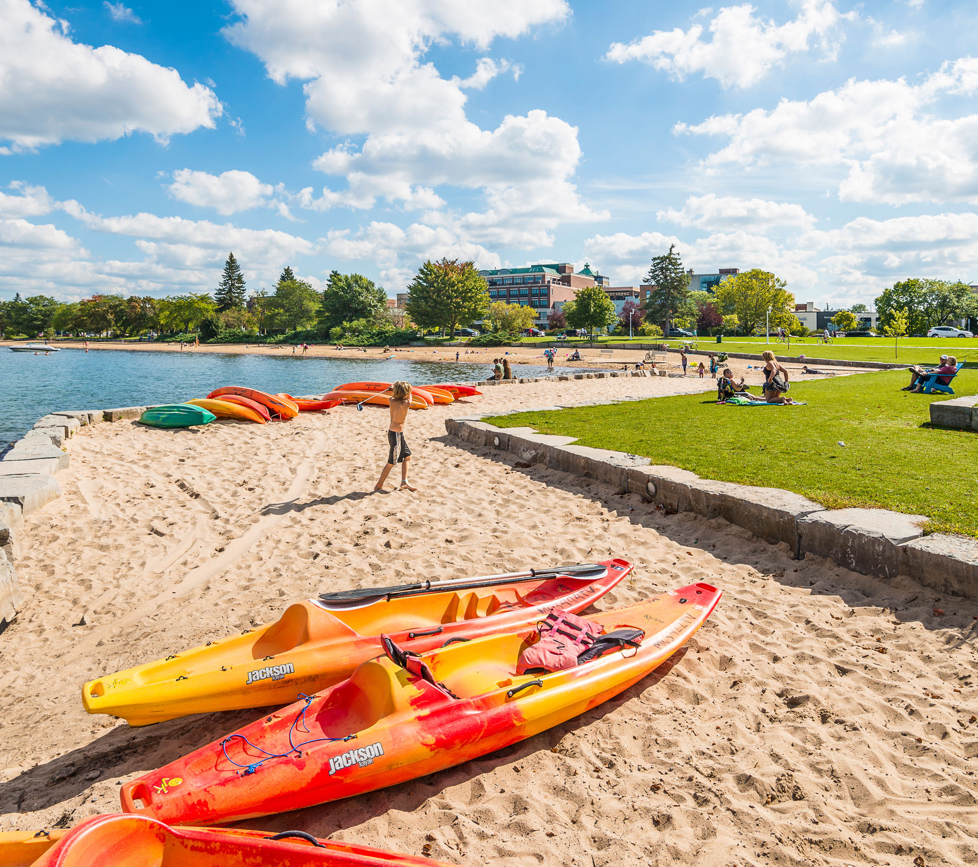 8 Great Lake Michigan Beach Towns | Midwest Living