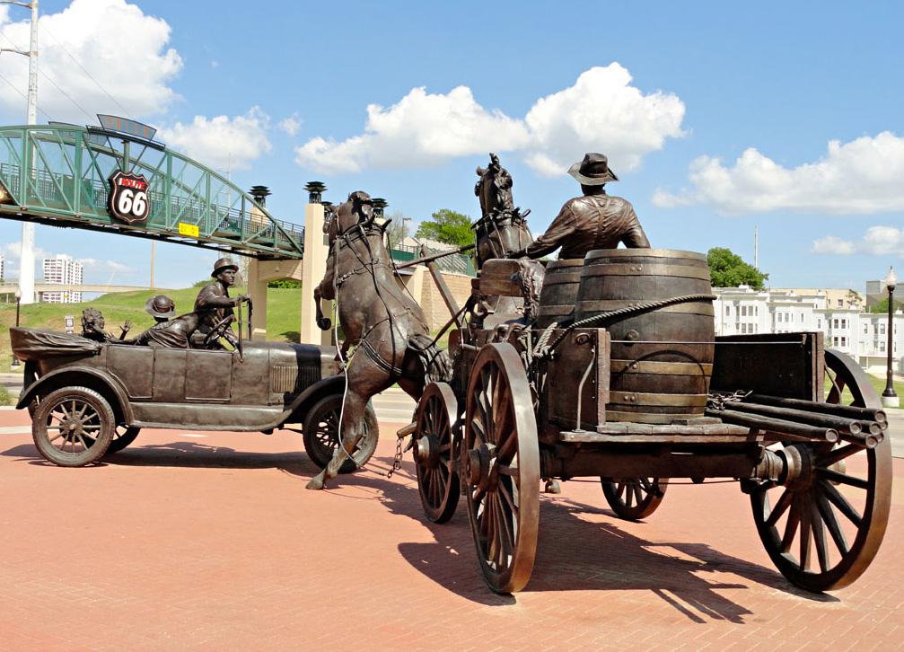 Cyrus Avery Centennial Plaza.