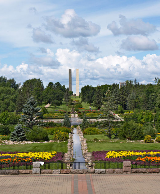 International Peace Garden.