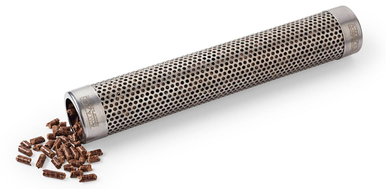 Grilling gear--wood pellet tubes