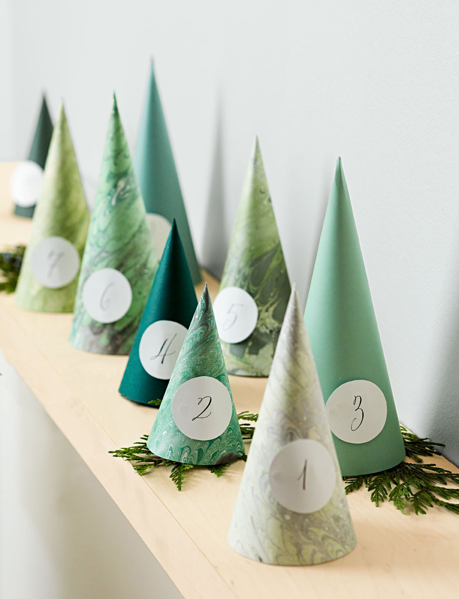 Hide-and-Peek Cone Tree Templates | Midwest Living