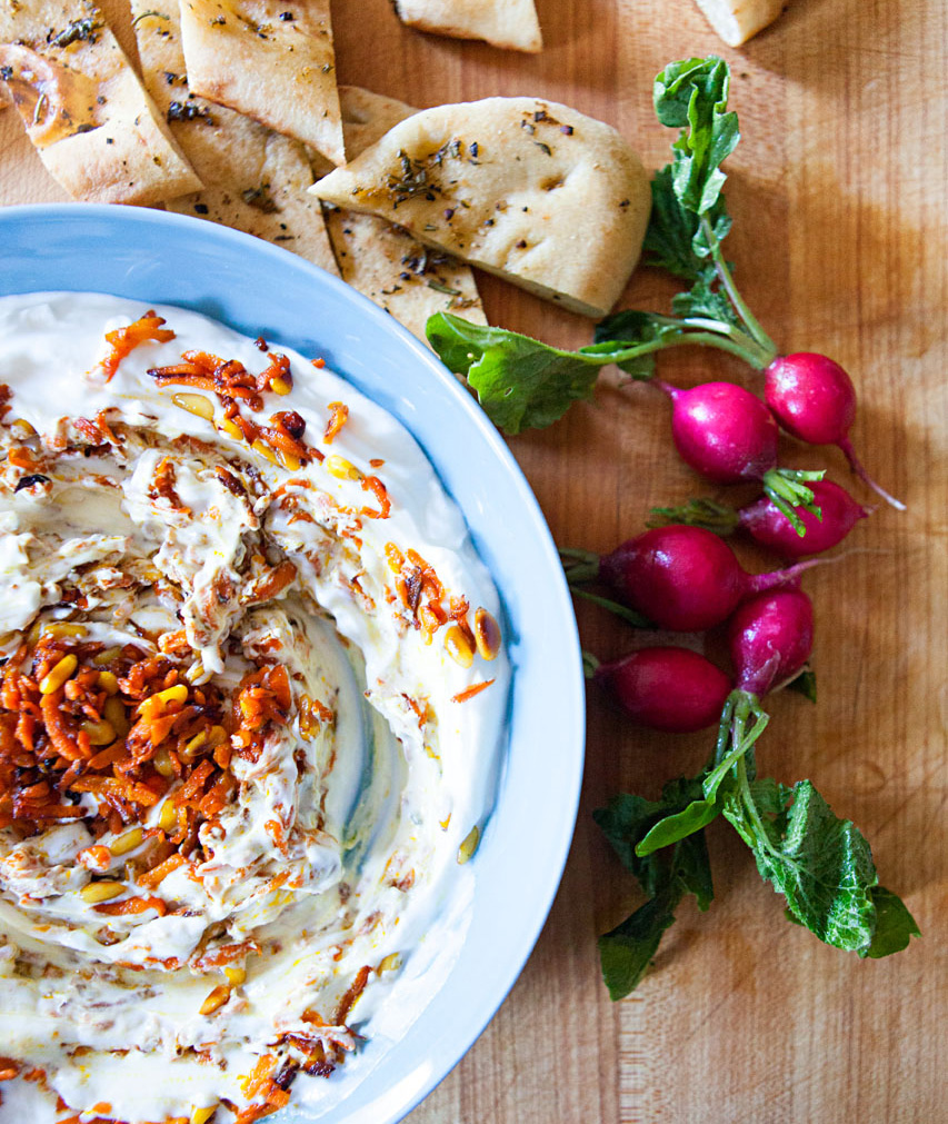 Turkish Carrot Yogurt Dip