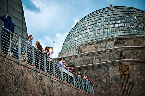 Adler Planetarium. Photo courtesy of Adler Planetarium.