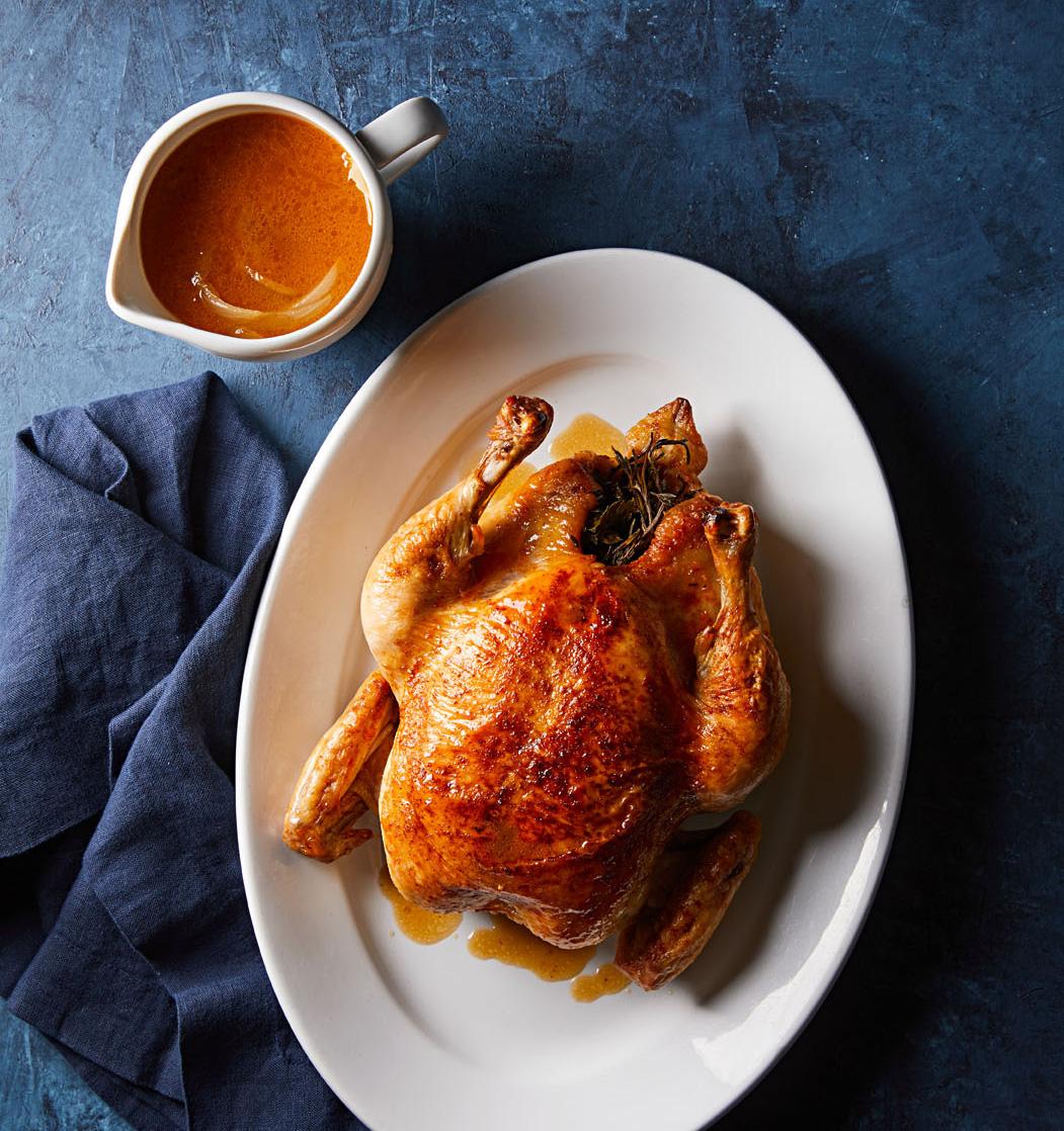 Roast Chicken with Pan Gravy