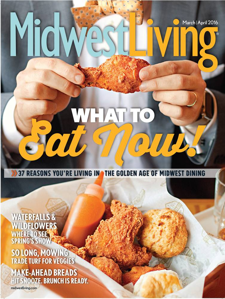 Midwest Living March April 2016 Issue Cover