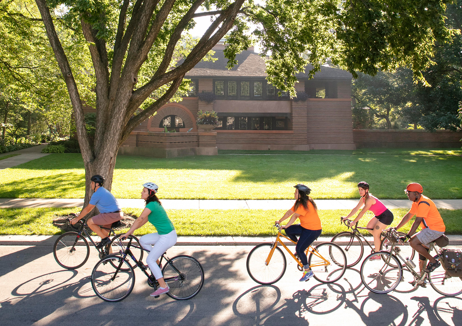 Frank Lloyd Wright Historic District Bike Ride