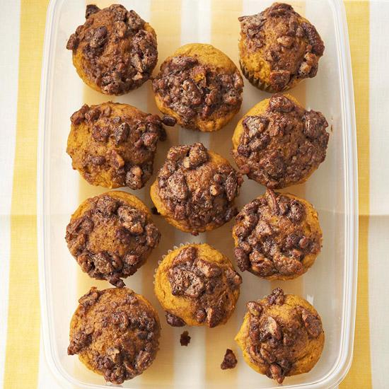 Pumpkin-Praline Muffins