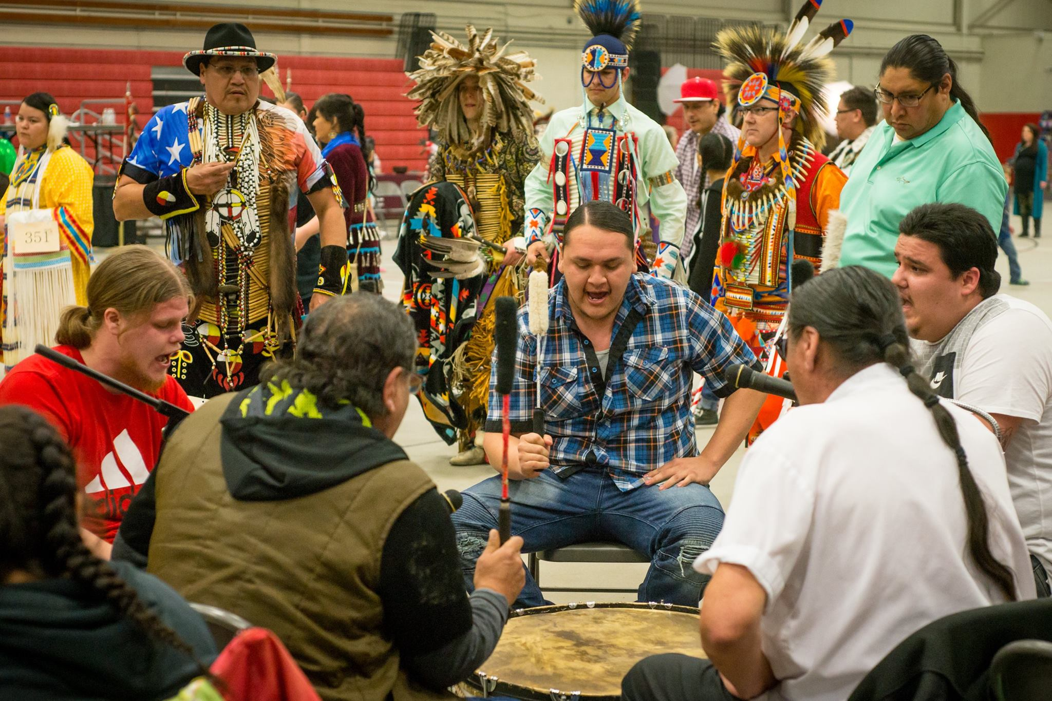 Woodlands and High Plains Powwow. Fargo, North Dakota.