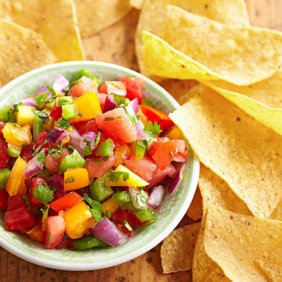 Tropical Tomato Salsa