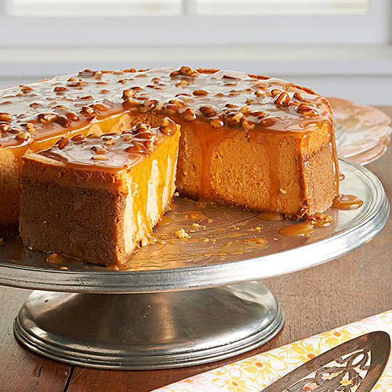 Aint Helen's Sweet Potato Cheesecake