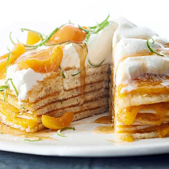 Apricot Stack Cake