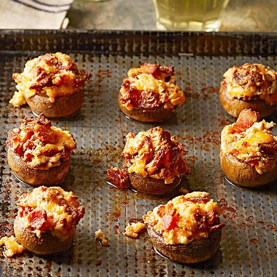 Bacon-Stuffed Mushrooms