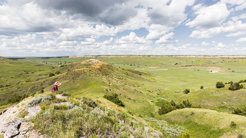 Blazing our own trails in Buffalo Gap National Grassland