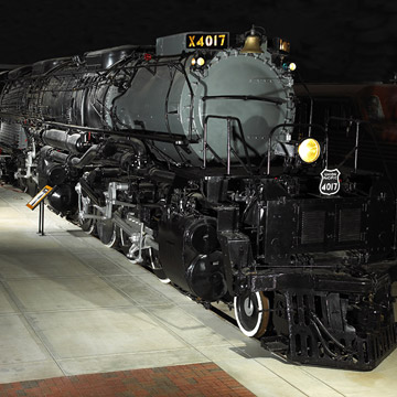 Green Bay's National Railroad Museum