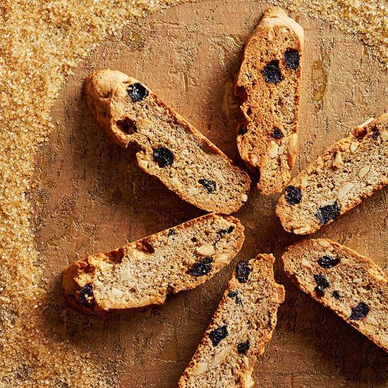 Blueberry-Almond Fika Toasts