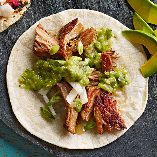 Slow-Cooker Carnitas Tacos