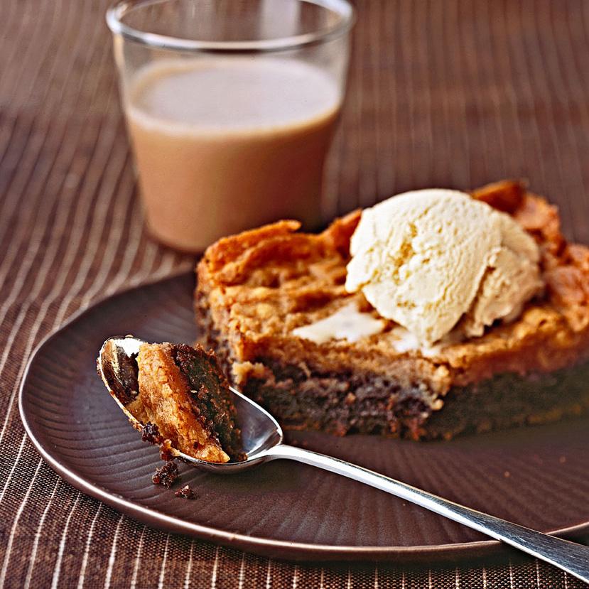 Chocolate Mocha Gooey Butter Cake recipe