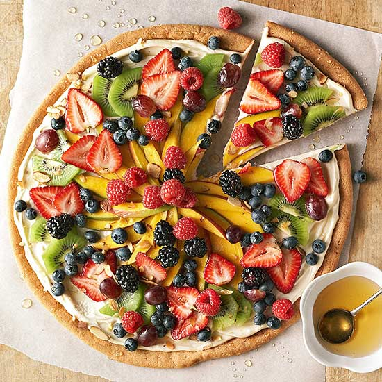 Dessert Fruit Pizza