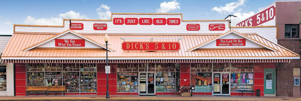 Dick's Old-Time 5 and 10