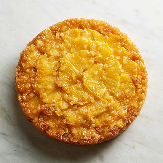 Double-Ginger Pineapple Upside-Down Cake