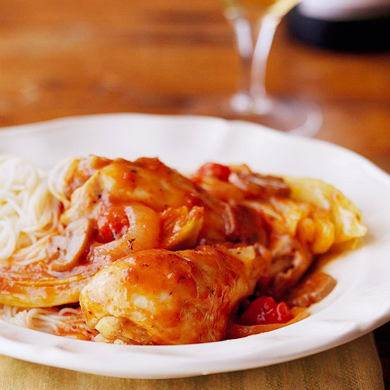 Slow-Cooker Easy Italian Chicken