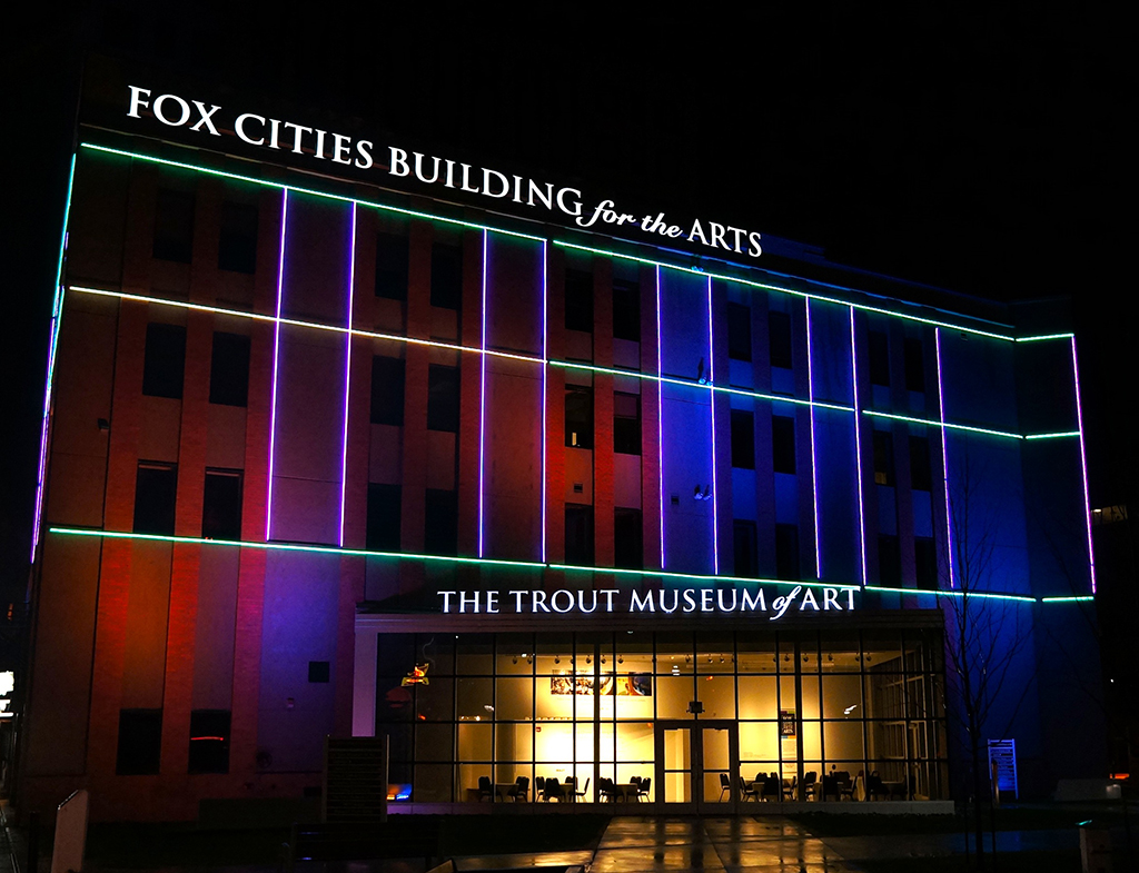 Fox Cities Performing Arts Center. Appleton, Wisconsin.