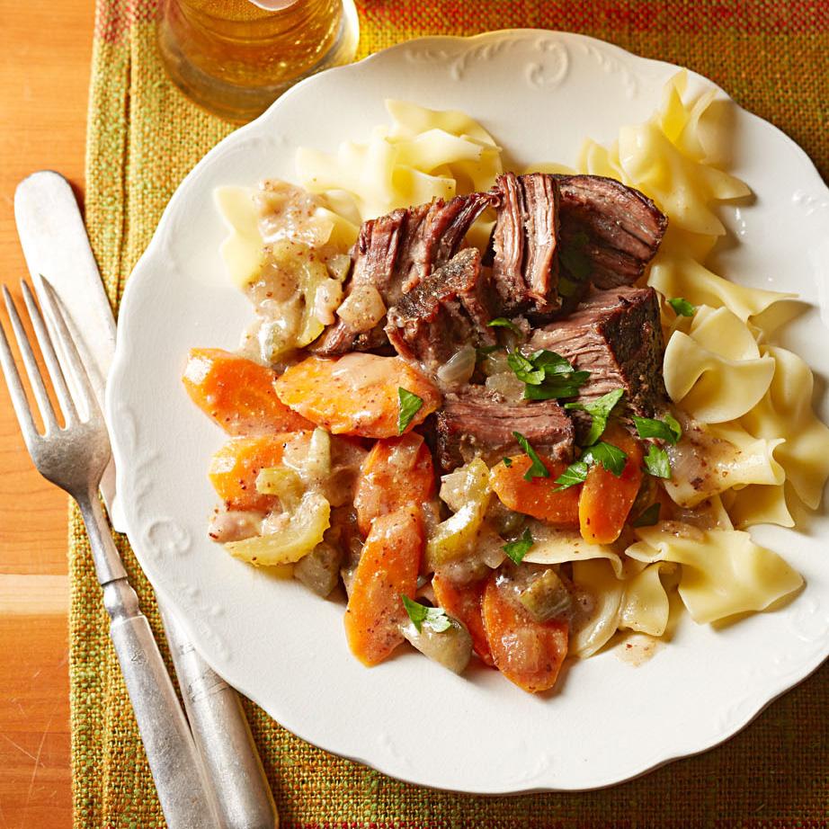 Slow-Cooker German-Style Beef Roast