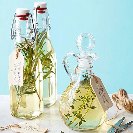 Homemade Herb Vinegars
