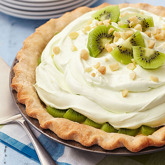 Kiwi Summer Limeade Pie