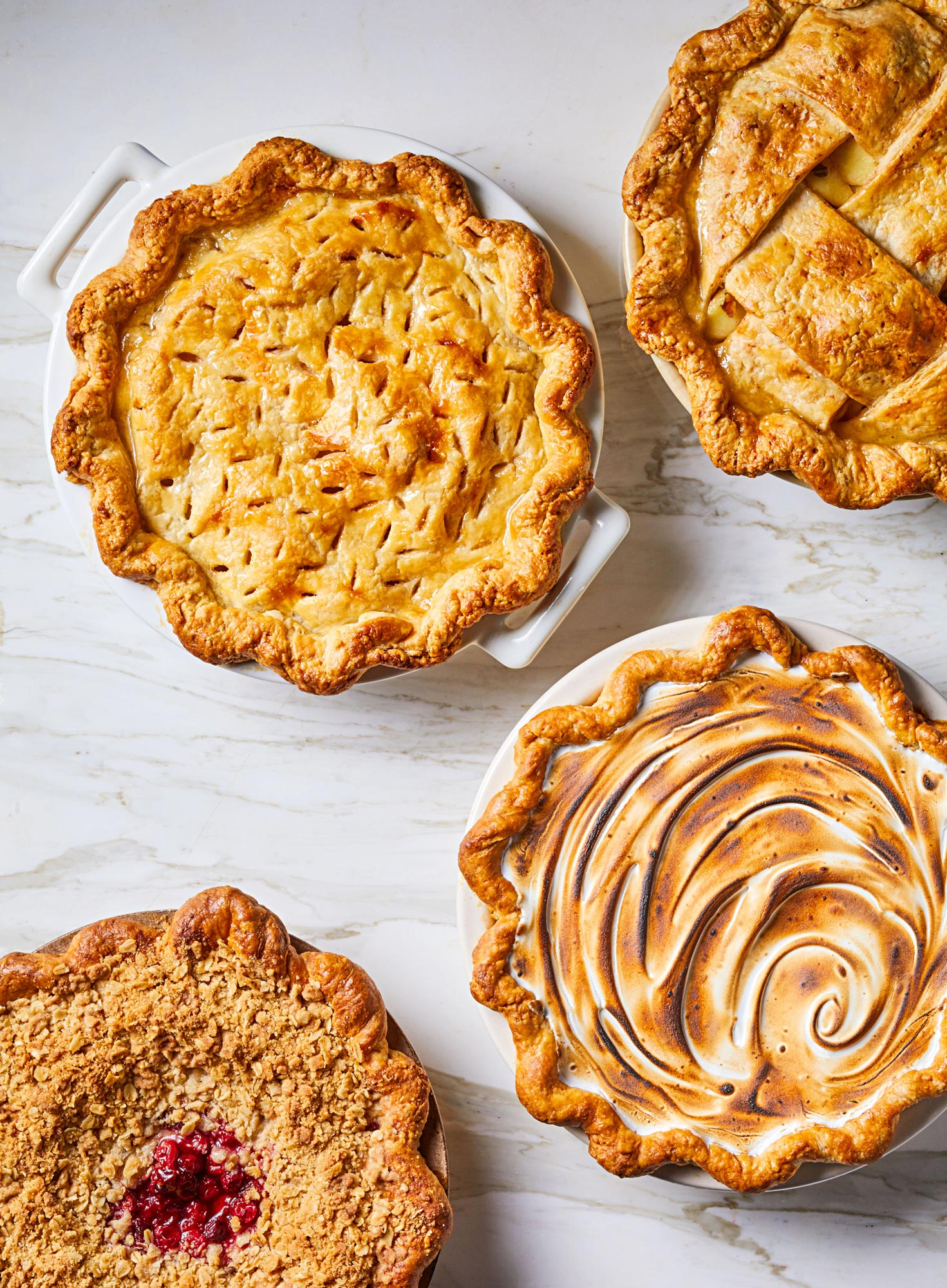 Classic holiday pies, reimagined